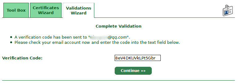 Complete-Validation