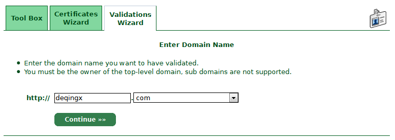 Enter-Domain-Name