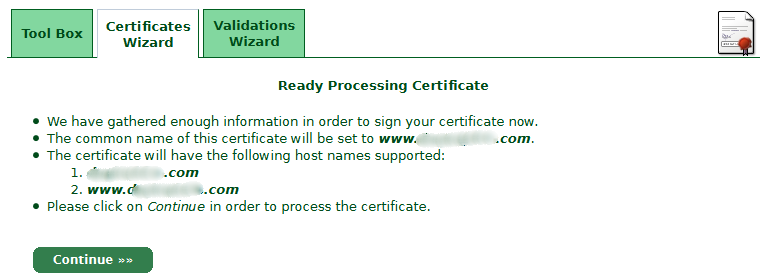 Ready-Processing-Certificate