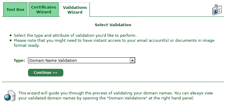 Select-Validation