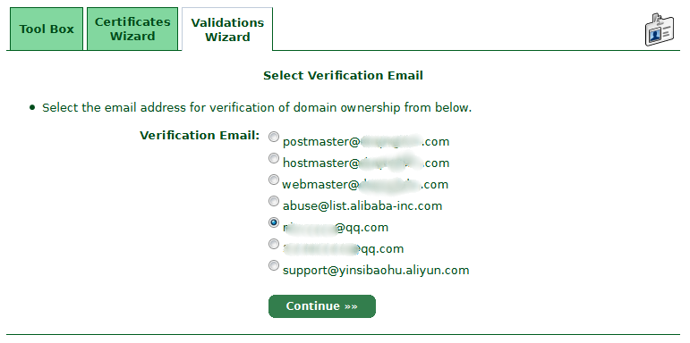 Select-Verification-Email