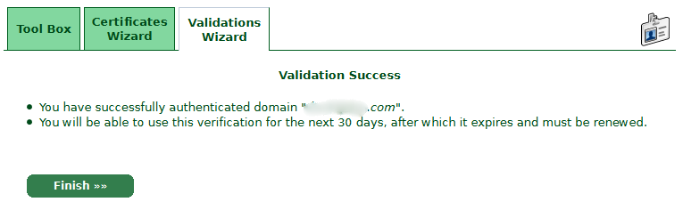 Validation-Success