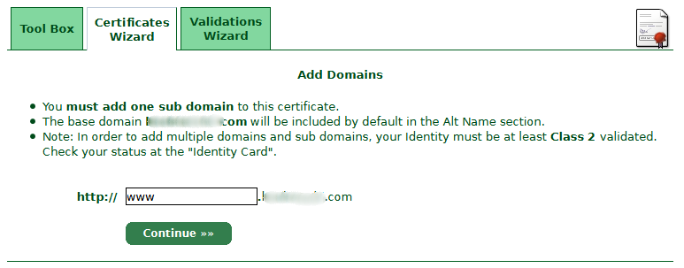 add-one-sub-domain