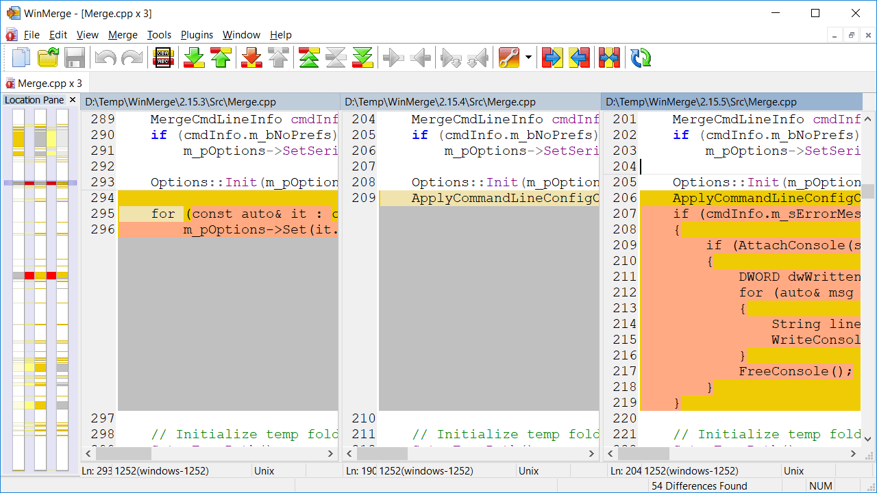 WinMerge – 强大的文件比对/合并工具-沙唐桔