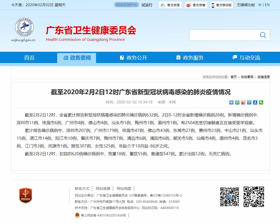 新型冠状病毒(2019-nCoV) 信息收集(广东)-沙唐桔