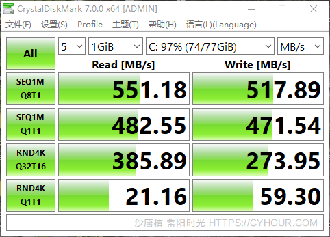 SSD 检测 硬盘检测 SSD 速度跑分 工具收集-垃圾站