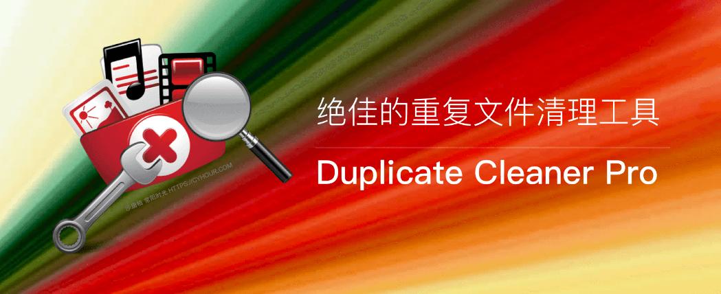 Duplicate Cleaner Pro – 更好的重复文件清理工具 汉化绿色特别版-沙唐桔