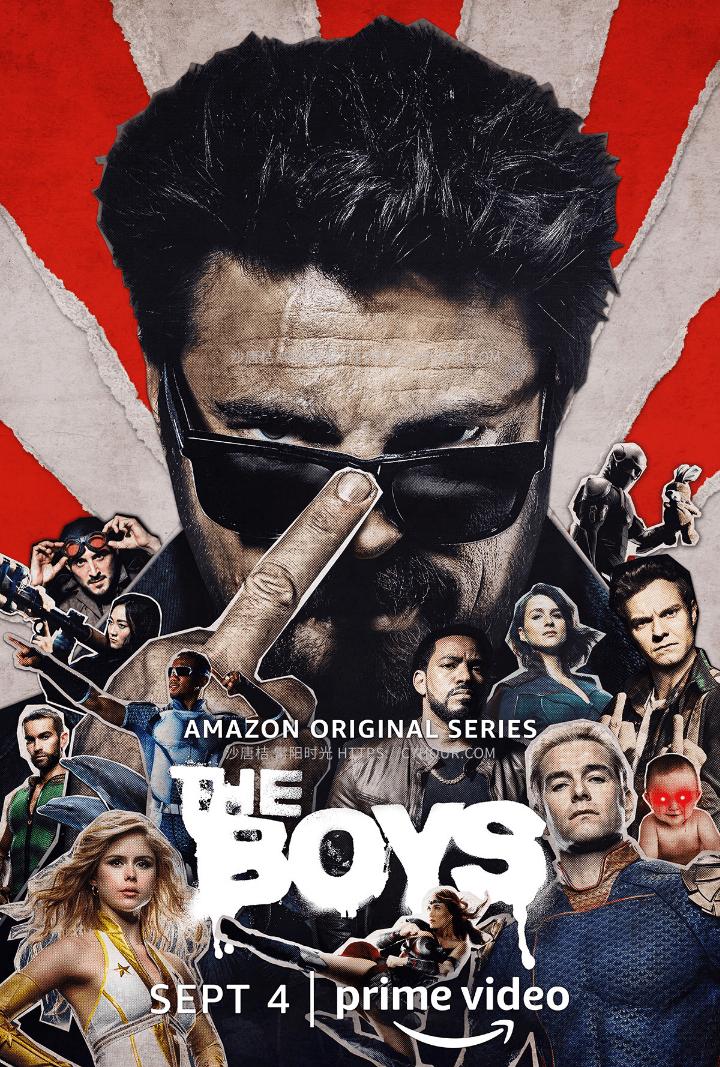 黑袍纠察队 第二季 BT The Boys Season 2 (2020) 2160p.1080p.8集全-沙唐桔