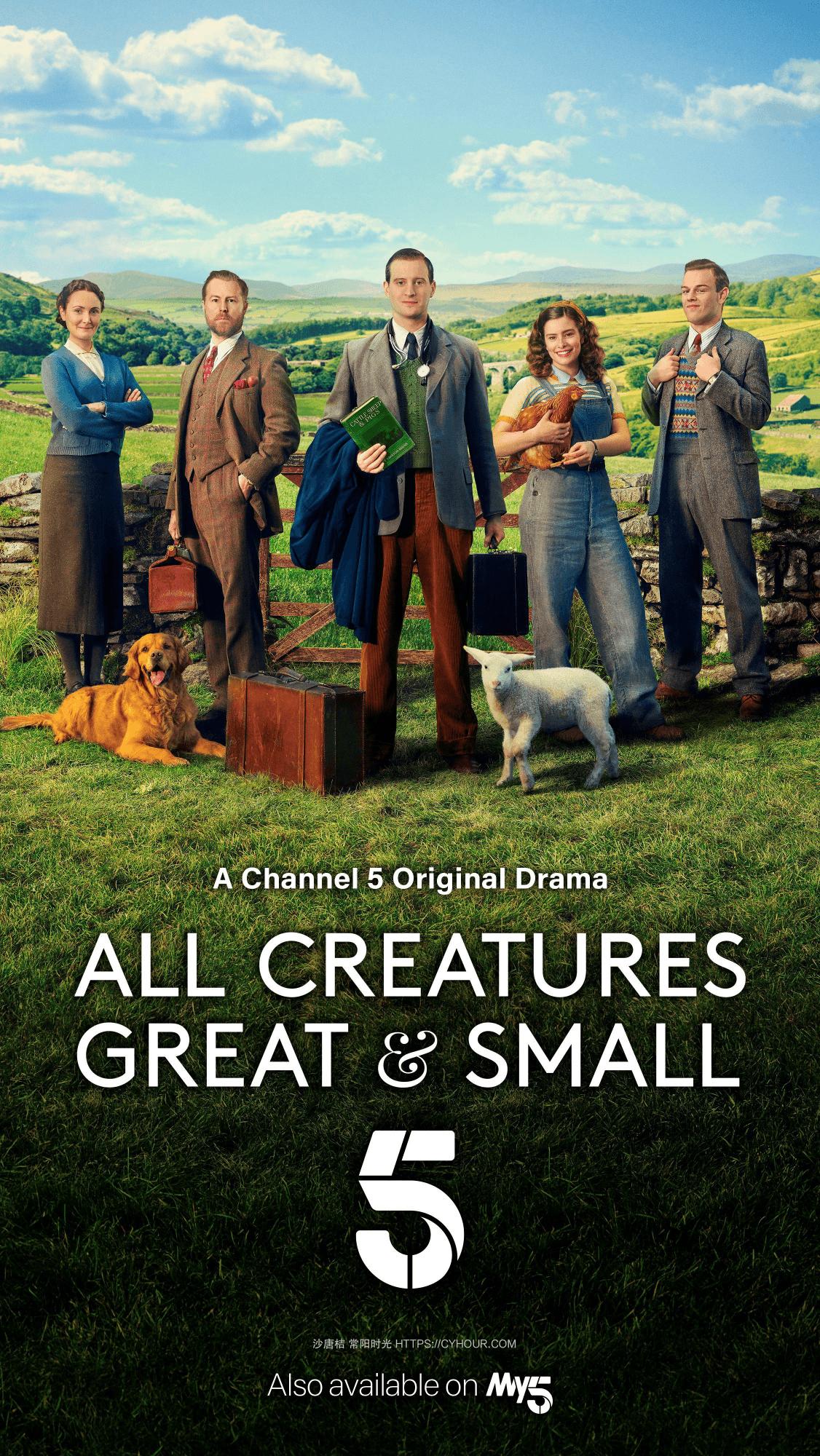 万物生灵 第一季 All Creatures Great and Small Season 1 (2020) 1080p BT 圣诞特别集 英语中字-垃圾站