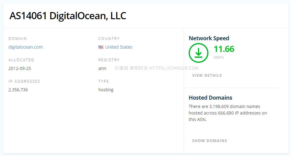 博友博客又搬家到了 DigitalOcean-沙唐桔