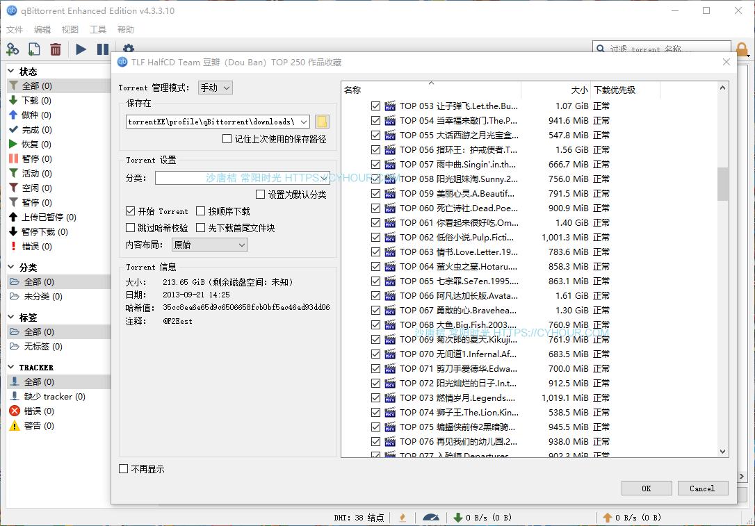 专业磁力BT种子下载工具 qBittorrent EE增强版「uTorrent 替代品」-垃圾站