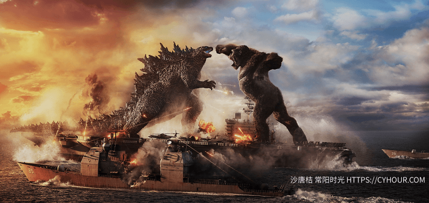 哥斯拉大战金刚 Godzilla vs Kong 4K 2160p 英语中字 (2021)-沙唐桔