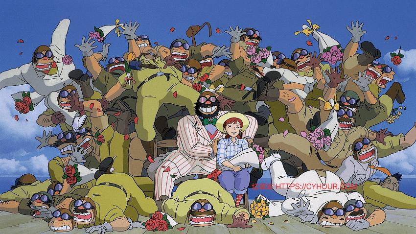 红猪 紅の豚 (1992) 1080p 原盘 日语中字 + 吉卜力作品合集.Studio.Ghibli.Collection.1979-2016-垃圾站