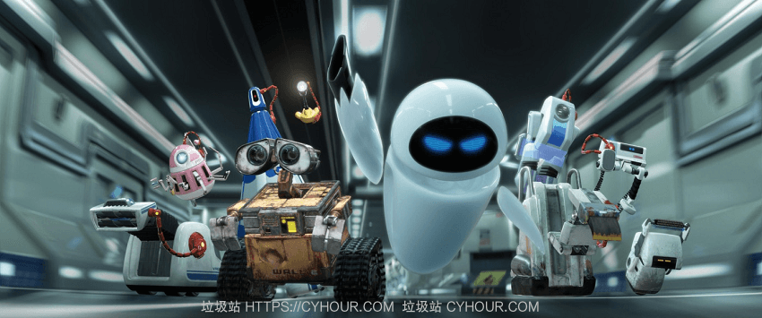 机器人总动员 WALL·E (2008) 1080p 4k 多版本 英语中字-垃圾站