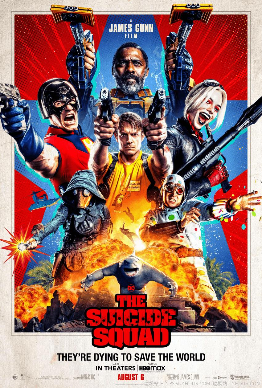 X特遣队 全员集结 4K The Suicide Squad (2021) 1080p 英语中字-垃圾站