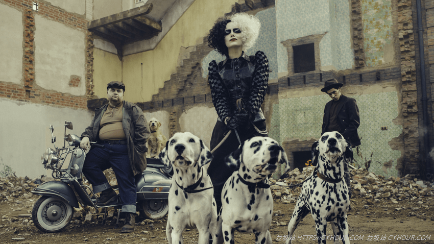黑白魔女库伊拉 4K Cruella (2021) 1080p 英语中字-垃圾站