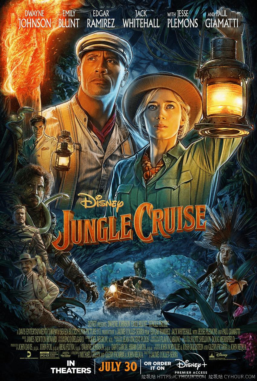 丛林奇航 4K Jungle Cruise (2021) 1080P 英语中字-垃圾站